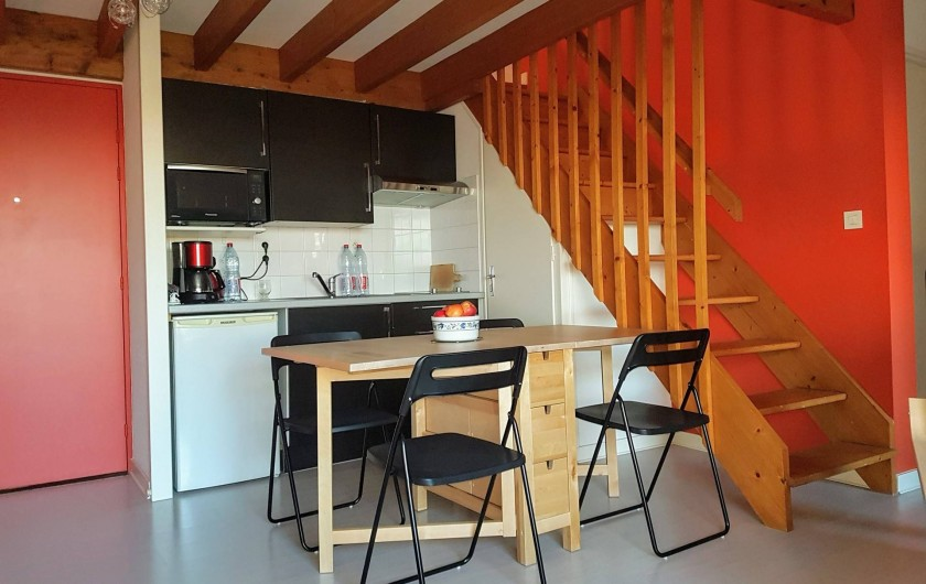 Location de vacances - Appartement à Les Herbiers - Vue Coin Cuisine