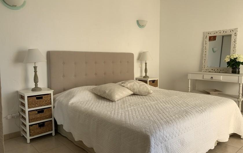 Location de vacances - Villa à Cagnes-sur-Mer - chambre 1 Room #1