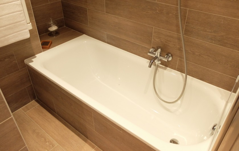 Location de vacances - Villa à Cagnes-sur-Mer - Bathroom 1st floor