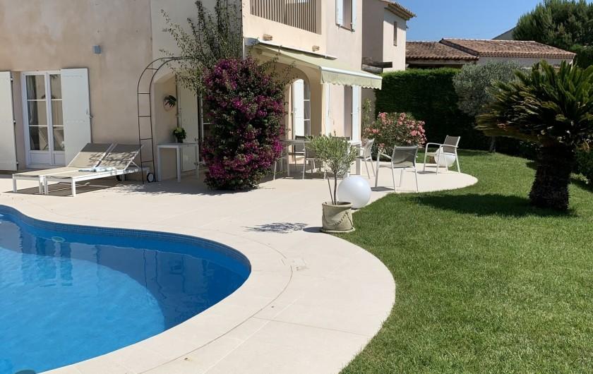 Location de vacances - Villa à Cagnes-sur-Mer - Villa coté sud Villa southside