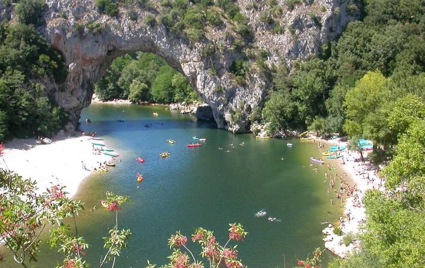 Location de vacances - Maison - Villa à Vallon-Pont-d'Arc - le Pont d'Arc