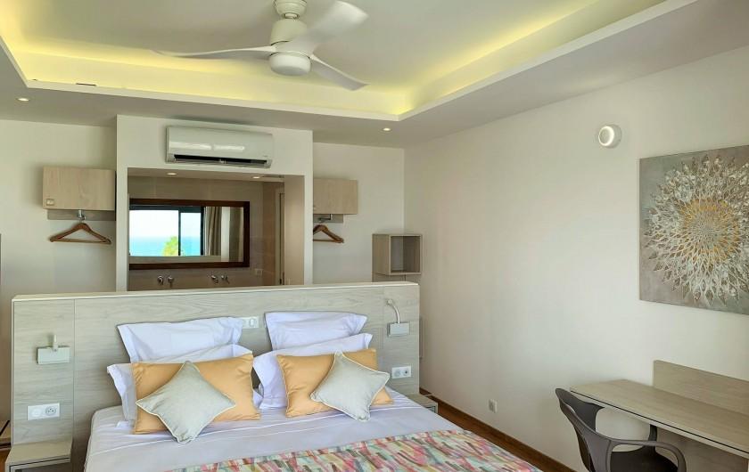 Location de vacances - Villa à Sainte-Anne - Suite 1 à l'étage
