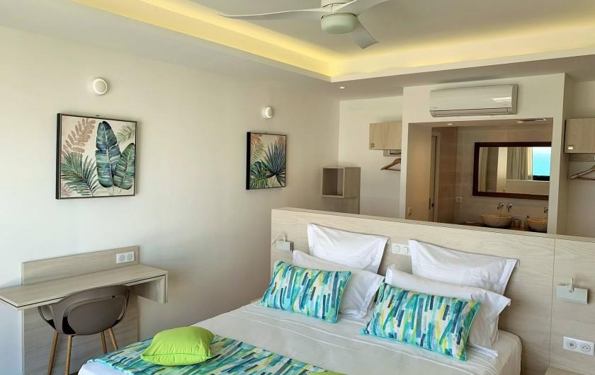 Location de vacances - Villa à Sainte-Anne - Suite 2 à l'étage