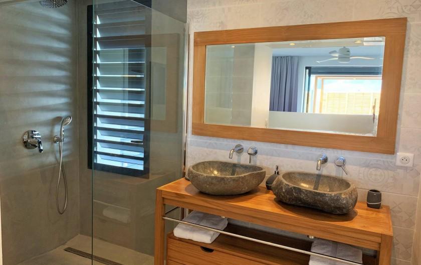 Location de vacances - Villa à Sainte-Anne - Suite 4 salle d'eau