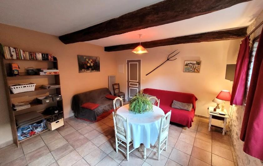 Location de vacances - Gîte à Tharaux - salle à manger