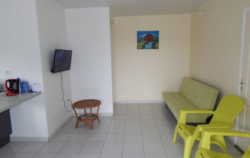 Location de vacances - Villa à Sainte-Anne - séjour appartement 2