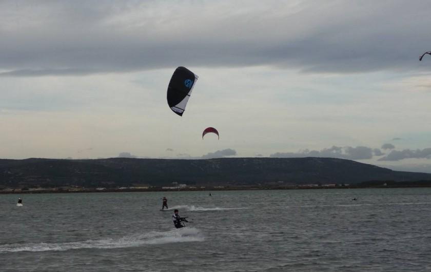 Location de vacances - Appartement à Frontignan - KITE SURF