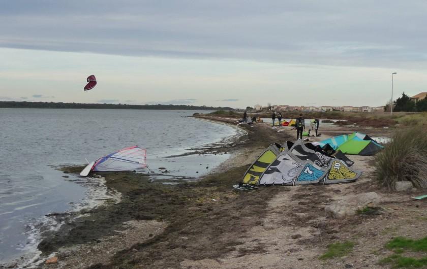 Location de vacances - Appartement à Frontignan - ZONE WIND SURF