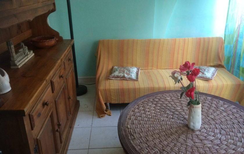 Location de vacances - Appartement à Frontignan - SALON