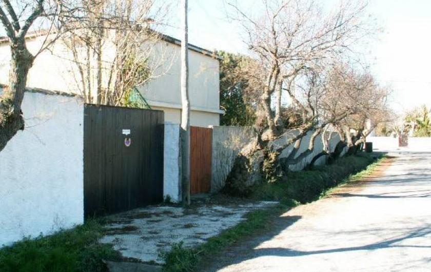 Location de vacances - Appartement à Frontignan - PORTAIL RUE
