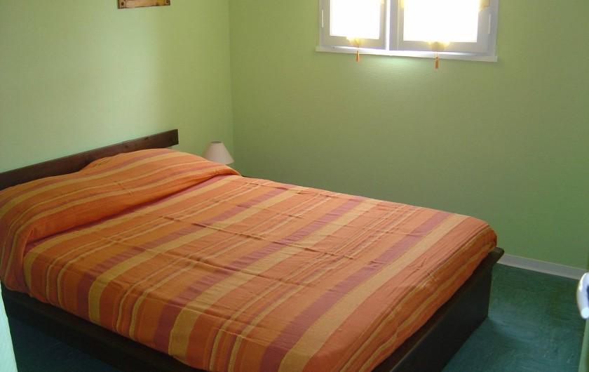 Location de vacances - Appartement à Frontignan - CHAMBRE GRAND LIT