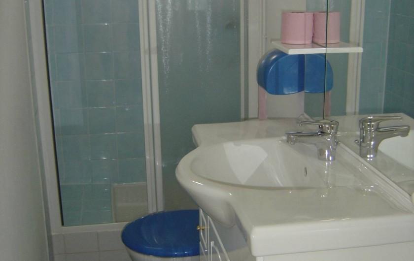 Location de vacances - Appartement à Frontignan - SALLE EAU