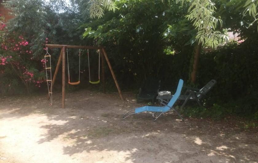 Location de vacances - Appartement à Frontignan - AIRE JEUX ENFANTS