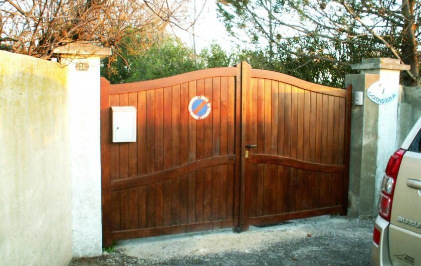 Location de vacances - Appartement à Frontignan - PORTAIL ACCES