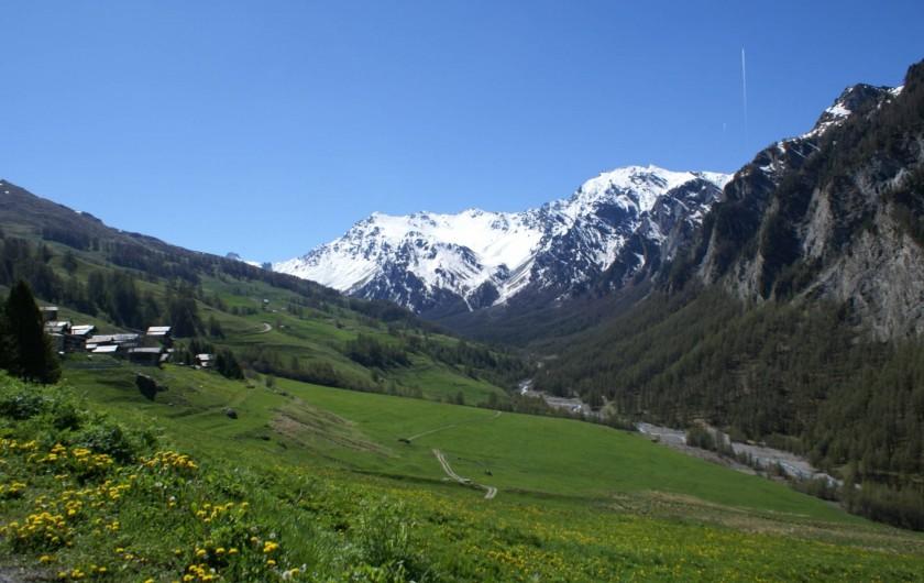 Location de vacances - Chalet à Saint-Paul-sur-Ubaye - la vallée