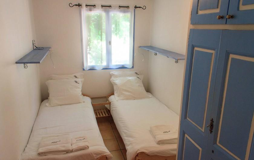 Location de vacances - Gîte à Chateauvert - Chambre