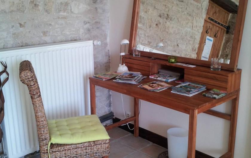Location de vacances - Chambre d'hôtes à Ardin - Chambre 1