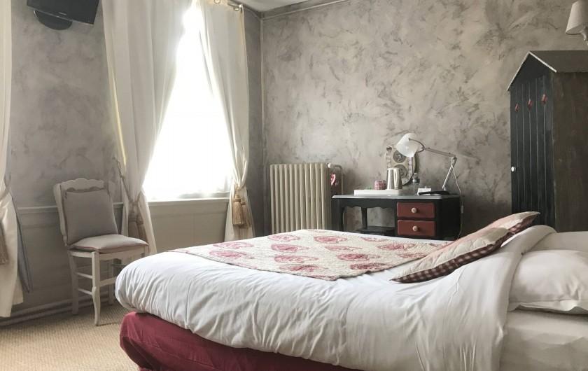 Location de vacances - Chambre d'hôtes à Les Andelys - Chambre Lancelot