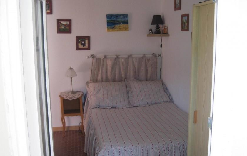 Location de vacances - Appartement à Pentrez - La chambre