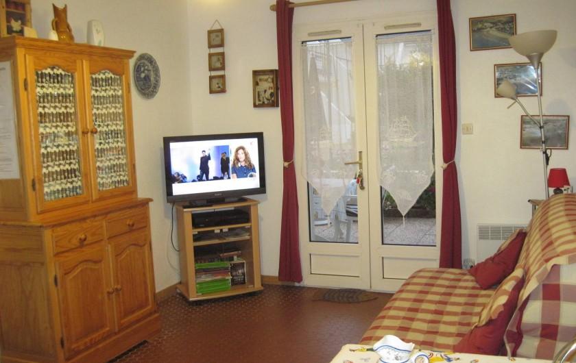 Location de vacances - Appartement à Pentrez - Séjour salon