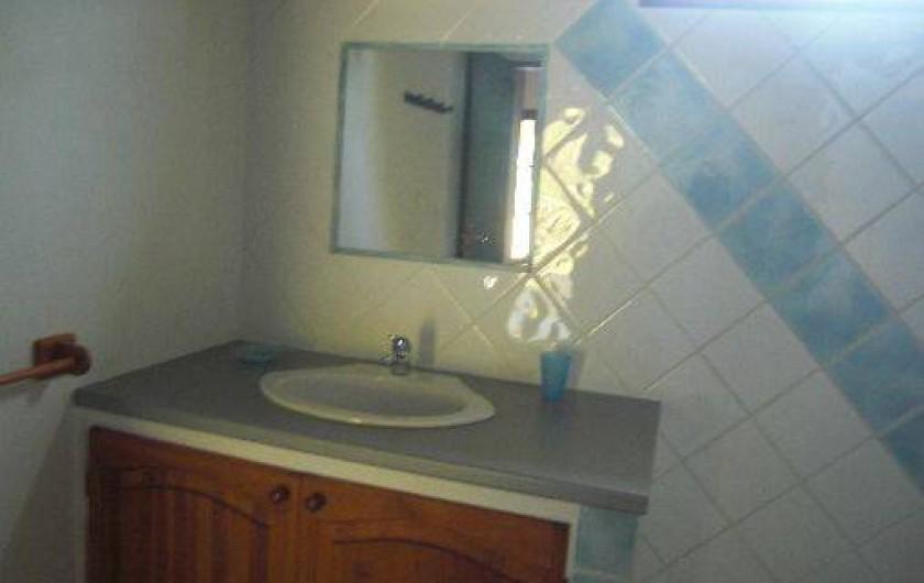 Location de vacances - Maison - Villa à Le Diamant - salle d'eau