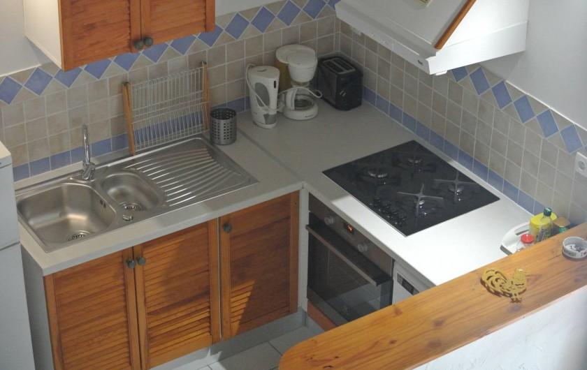 Location de vacances - Maison - Villa à Le Diamant - cuisine