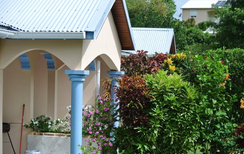 Location de vacances - Maison - Villa à Le Diamant - entré mitoyenne
