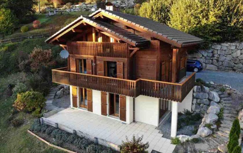 Location de vacances - Chalet à Verchaix - Aerial photograph