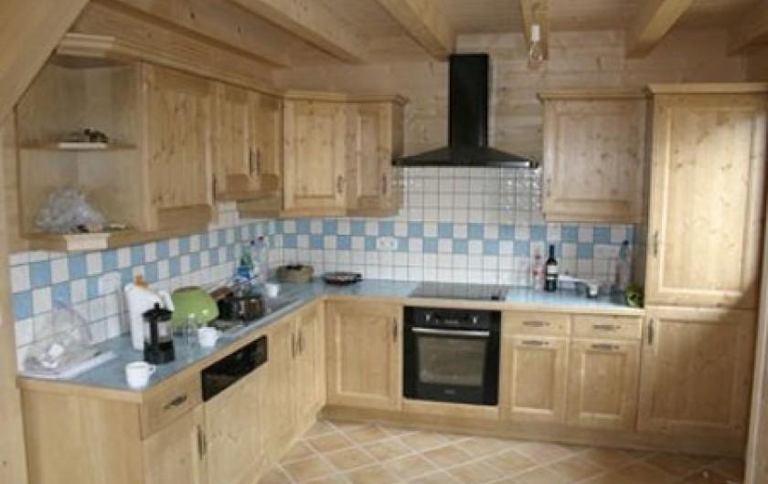 Location de vacances - Chalet à Verchaix - Main kitchen