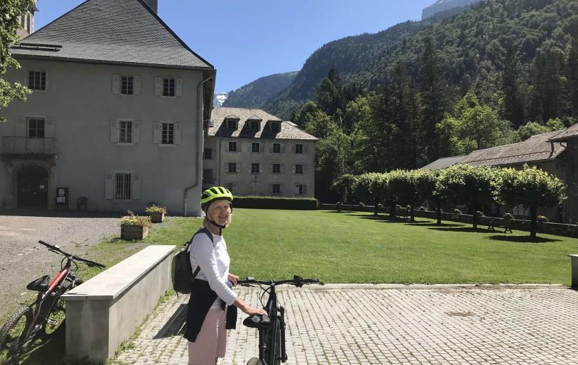 Location de vacances - Chalet à Verchaix - Electric bikes to Sixt!