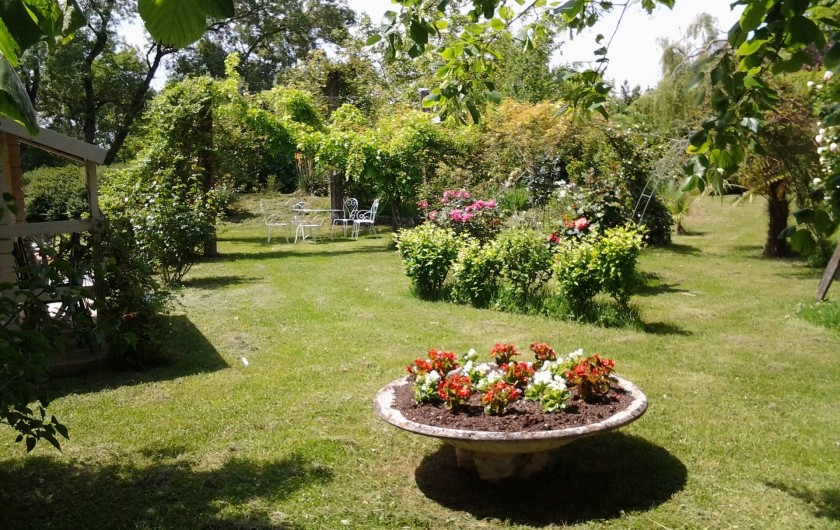 Location de vacances - Chambre d'hôtes à Saint-Thomas - Le parc
