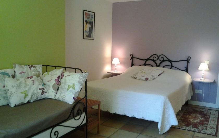 Location de vacances - Chambre d'hôtes à Saint-Thomas - Chambre Toulouse-Lautrec