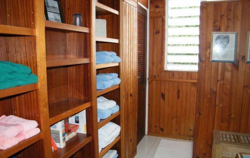 Location de vacances - Villa à Sainte-Anne - salle d'eau 2