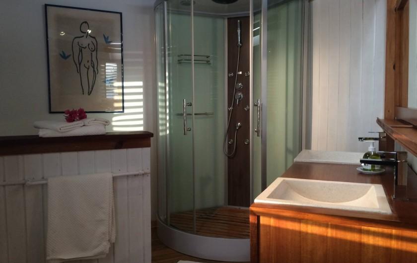 Location de vacances - Villa à Sainte-Anne - salle d'eau 3