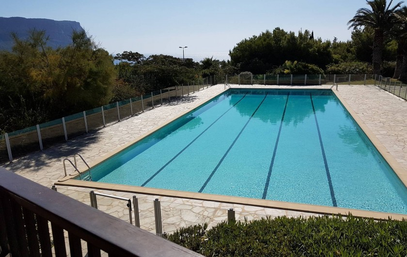 Location de vacances - Appartement à Cassis - La piscine de 25 m