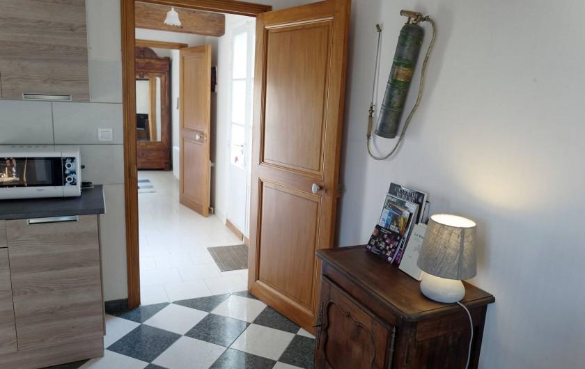 Location de vacances - Appartement à Saint-Dyé-sur-Loire - Petit couloir