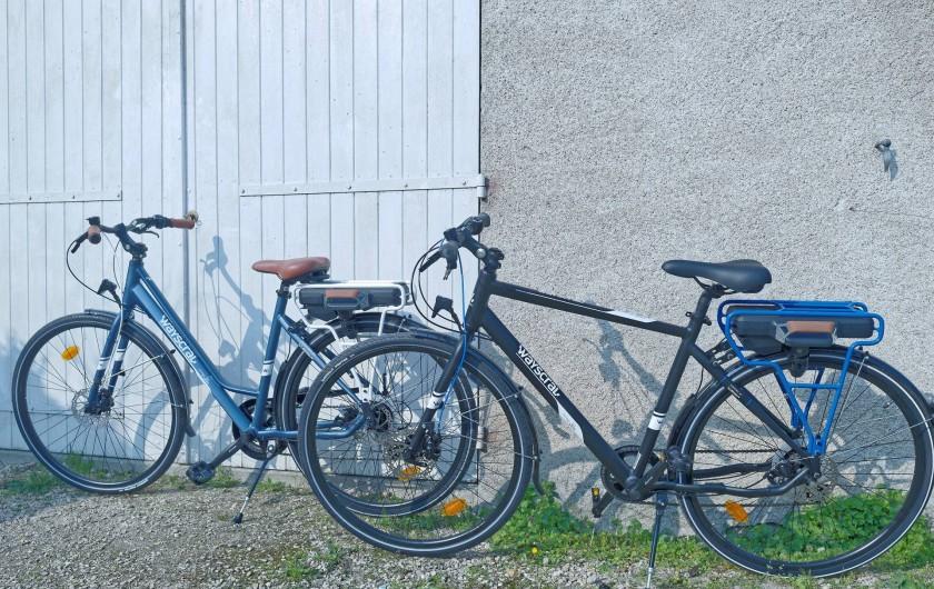 Location de vacances - Appartement à Saint-Dyé-sur-Loire - Vélos à prêter ou louer