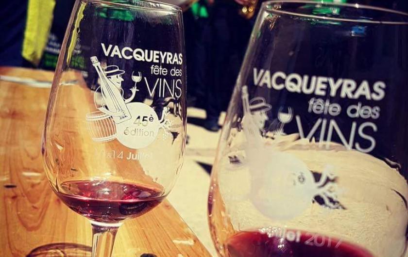 Location de vacances - Gîte à Vacqueyras - Fête du vin à Vacqueyras 13 et 14 juillet