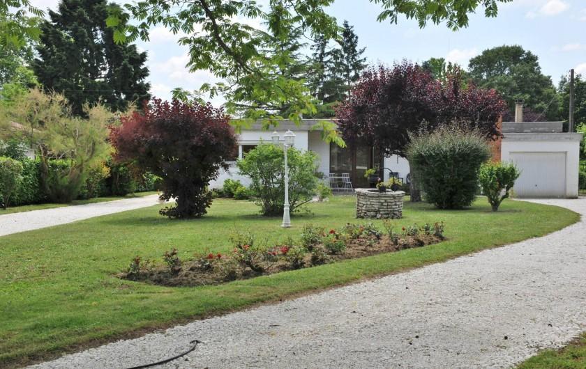 Location de vacances - Villa à Eymet - L'entrée du Parc