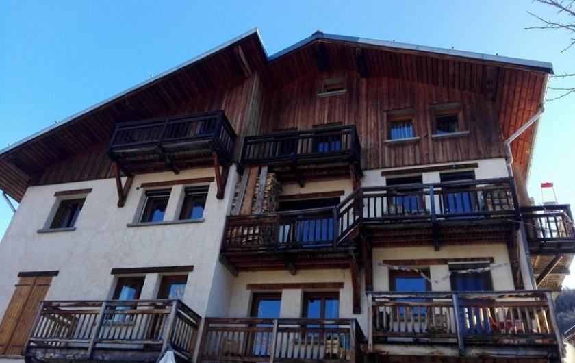 Location de vacances - Appartement à Peisey-Nancroix - Bienvenue aux Grangettes!
