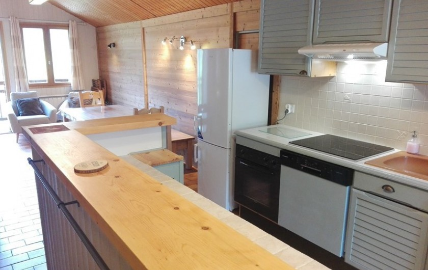 Location de vacances - Appartement à Peisey-Nancroix - La cuisine