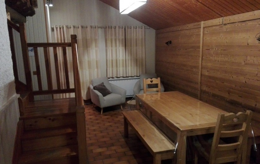 Location de vacances - Appartement à Peisey-Nancroix - La salle à manger