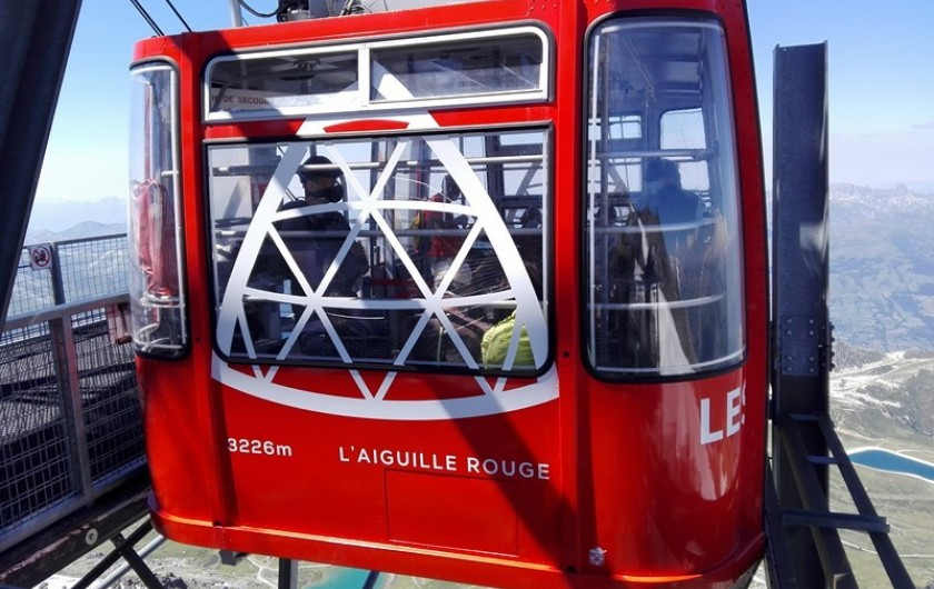 Location de vacances - Appartement à Peisey-Nancroix - Téléphérique de l'Aiguille Rouge