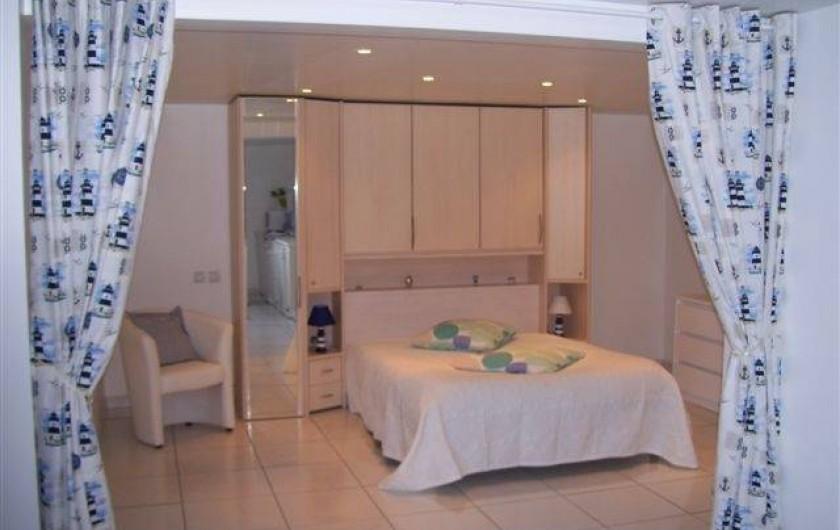 Location de vacances - Appartement à Saint-Jean-de-Luz - Chambre