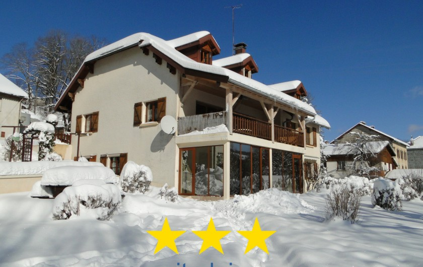 Location de vacances - Gîte à Foncine-le-Haut - Hiver