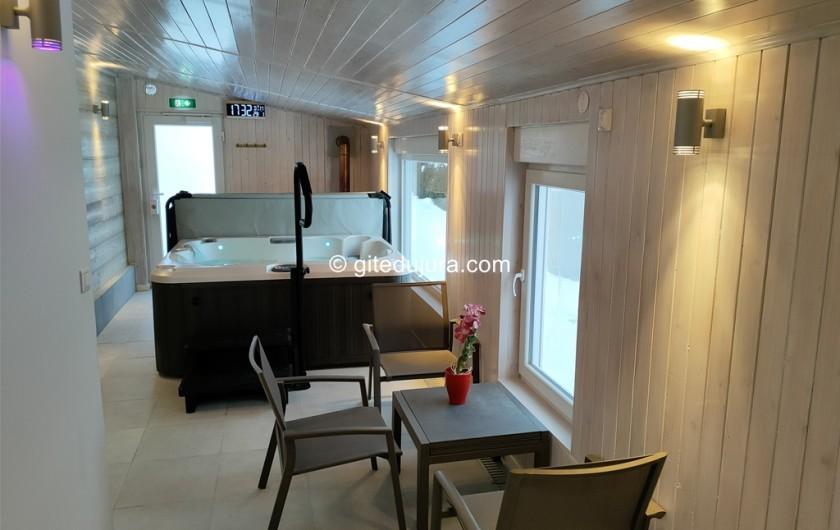 Location de vacances - Gîte à Foncine-le-Haut - Spa et sauna privés sur place (option payante)