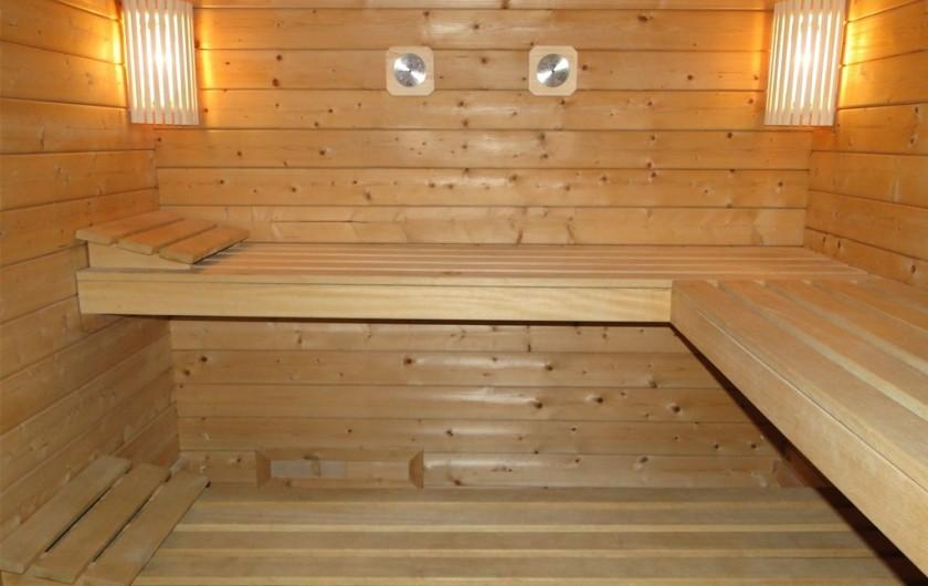 Location de vacances - Gîte à Foncine-le-Haut - Sauna privé sur place (option payante)