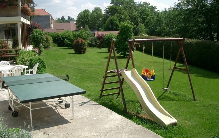 Location de vacances - Gîte à Foncine-le-Haut - Espace de jeux et de détente