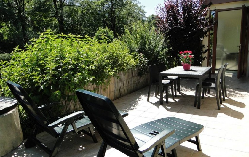 Location de vacances - Gîte à Foncine-le-Haut - Terrasse
