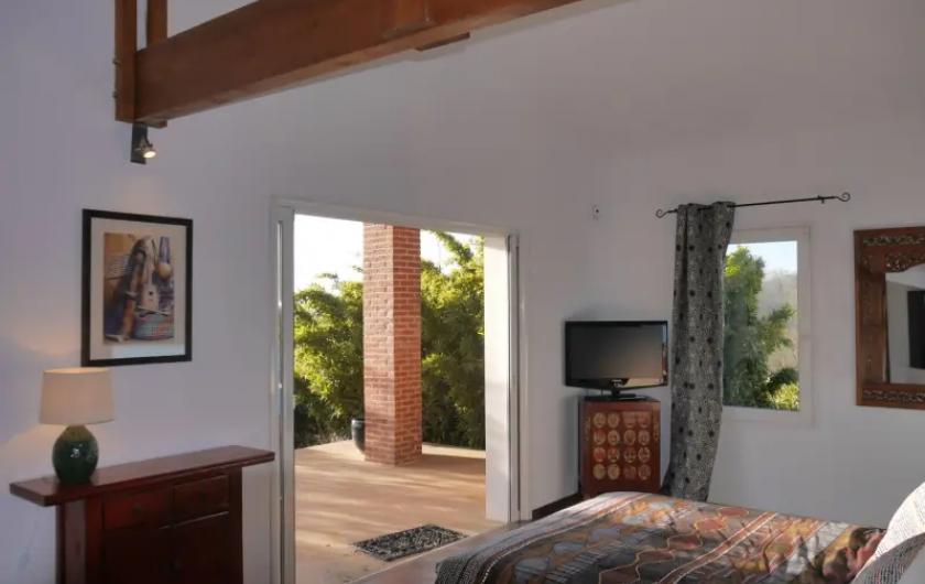 Location de vacances - Villa à Castin - Suite parentale